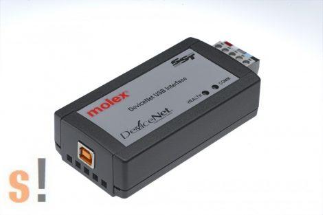112076-0001 # SST-DN4-USB, SST™ DN4 DeviceNet USB interfész konverter, Molex