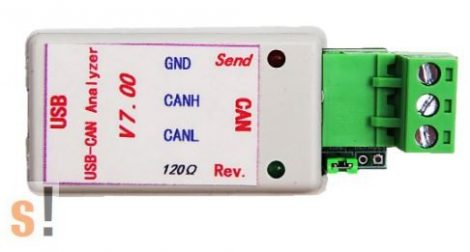 114991193 # USB - CAN analyser/konverter/adapter/Seed