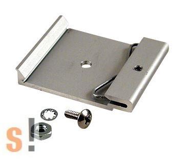 1427DIN42M # Rögzítő elem DIN sínre/35 mm sínhez/ Aluminium/Nagy teherbírás, max. 56 kg/HAMMOND