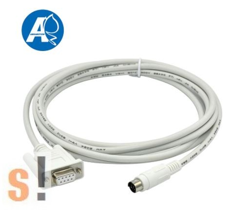 1761-CBL-PM02 # Allen-Bradley Rockwell MicroLogix 1000 SERIES PLC programozó kábel/90 fokos Mini-DIN csatlakozó, NONAME