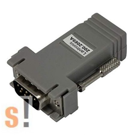 200.2069A # Networking Adapter RJ45 to DB9M,  DB9 papa-RJ45 átalakító / Lantronix