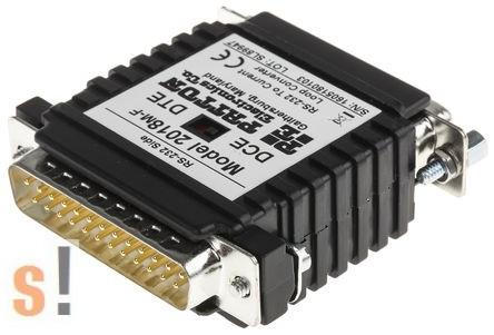 2018M-F # RS-232 - 20 mA áramhurok konverter/20 mA Current Loop/aktív/passzív/DB25 papa/mama, Patton