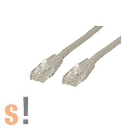 21.15.0502 # Ethernet CAT5 Patch kábel/2 méter/szürke, Roline