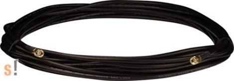 3S008-1 # Antenna kábel/RG58A/U/SMA Male/RP-SMA Male/8 méter, ICP DAS, ICP CON