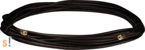 3S008 # Antenna kábel/RG58A/U/SMA Male/RP-SMA Male/10 méter, ICP DAS, ICP CON