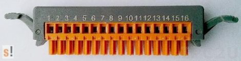 4PCA-EB16G # Sorkapocs/Terminal Strip/ 16Pin, f. I-87/80, ICP DAS, ICP CON