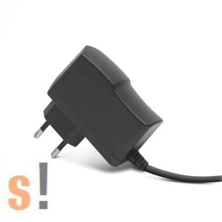 55058A # Fali tápegység adapter/12VDC/6W/500mA/230VAC, Delight