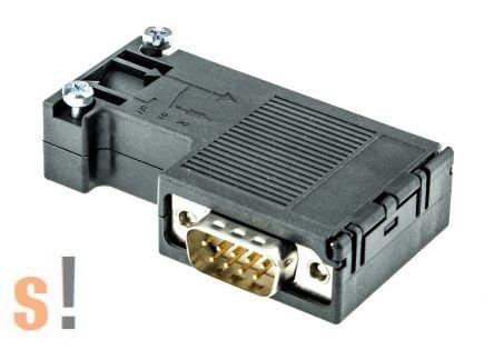 6ES7 972-0BA12-0XA0 # Profibus busz csatlakozó/ SIMATIC DP PROFIBUS Nodes to Bus Cable