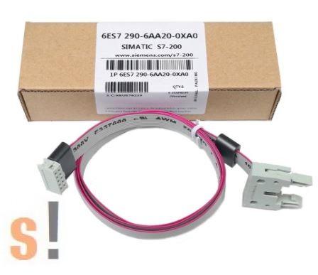 6ES7290-6AA20-0XA0 # SIMATIC S7-200, Hosszabbító/összekötő kábel/ EM - CPU  22X közé/ 0.8m/ASAMOTION