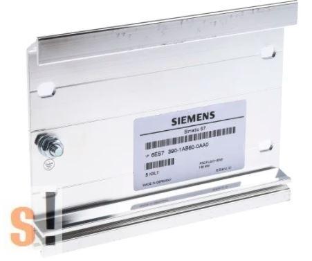 6ES7390-1AB60-0AA # Szerelősín / Rögzítősín Siemens S7-300 PLC-hez/160 mm hossz/AMSAMOTION