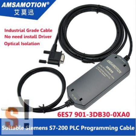 6ES7901-3DB30-0XA0 # Siemens programozó kábel/S7-200 PLC-hez és Touch panelhez/PPI kommunikáció/HMI/TP177/TP177A/TP178/OP73/Smart700/1000, Amsamotion