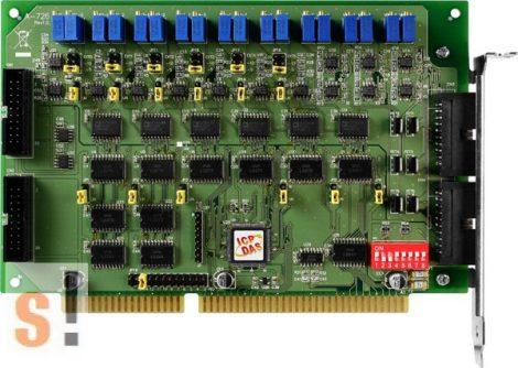 A-726 # ISA kártya/ISA Board/6x AO/12bit/16x DI/16x DO, ICP DAS, ICP CON