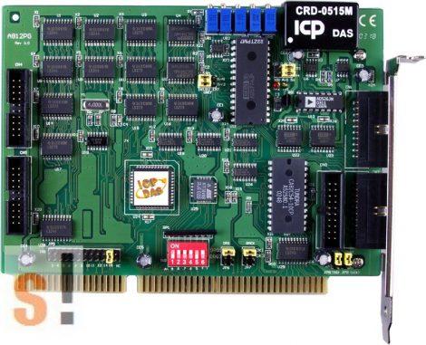 A-812PG # ISA Board/16x AI/12bit/62,5kS/s/2x AO/16x DI/16x DO, ICP DAS, ICP CON
