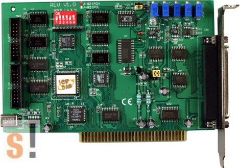 A-821PGH/S # ISA Board/16/8x AI/12bit/45kS/s/1x AO/16x DI/16x DO/High Gain/DB-822 sorkapocs, ICP DAS, ICP CON