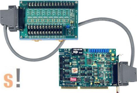 A-823PGH/S # ISA Board/16/8x AI/12bit/125kS/s/2x AO/16x DI/16x DO/High Gain/DB-8225 sorkapocs, ICP DAS, ICP CON