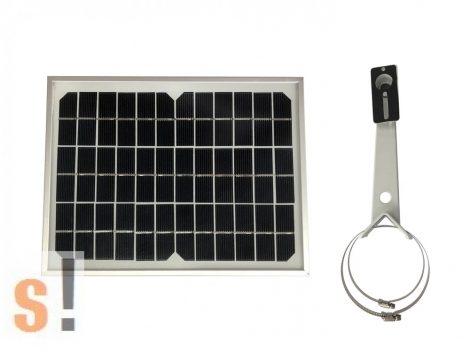 ACC-SOPAN-10 # Solar Panel az Ursalink  UC11-N1 DC LoRaWan szenzorhoz/5W/rúdra rögzíthető, URSALINK