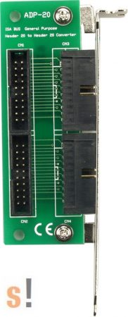 ADP-20 # Slot Adapter/ISA/20X20pin/CA-2002, ICP DAS, ICP CON
