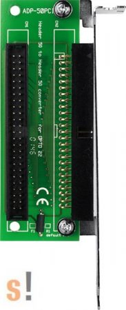 ADP-50PCI #Slot Adapter/PCI/50pin/CA-5002, ICP DAS, ICP CON