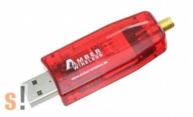 AMB8665-M # USB Wireless M-Bus modul/Automatikus mérőleolvasás/M-Bus/FSK/GFSK/66.6 kbps/ 868.95 MHz/USB 2.0, AMBER-Wurth Elektronik