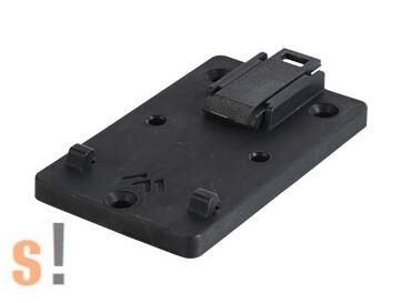 APRA 442-311-20 # DIN sín rögzítő klip/35 mm sínhez/45 mm széles/10 darabos csomag/APRA