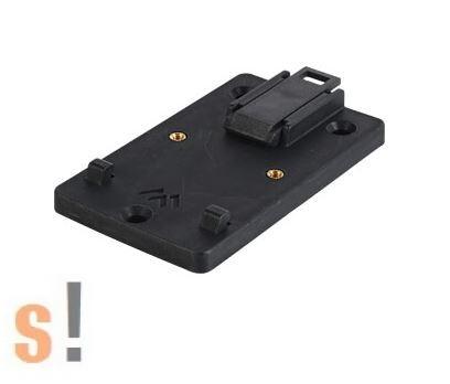 APRA 442-311-25 # DIN sín rögzítő klip/35 mm sínhez/45 mm széles/10 darabos csomag/APRA