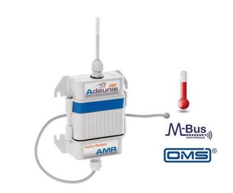 ARF7906AA # AMR TEMP Wireless M-Bus Transmitter Internal + External T° / T1 - 10 sec / Self-powered, Adeunis RF