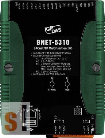 BNET-5310 # I/O Modul/BACnet/IP/4AI/2AO/3DI/3DO, ICP DAS