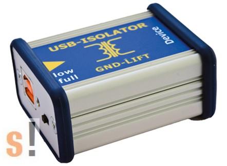 C028149 # USB Isolator/leválasztó/1000VDC/Aluminium ház, CESYS