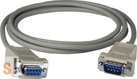 CA-0915 # Soros RS-232 kábel/1 m/ DB9 mama/DB9 papa/I-7520/I-7551/ICP DAS