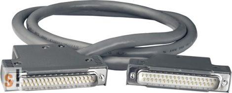 CA-3710 # Kábel/37pin/male-male/D-sub/1m, ICP DAS, ICP CON