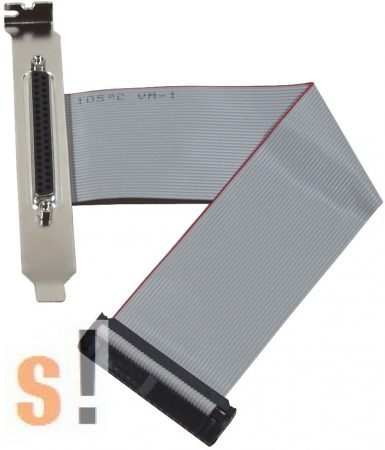 CA-4037B # Kábel/40pin/flat/37pin Female/24 cm/PISO-DIO, ICP DAS, ICP CON