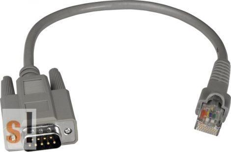 CA-RJ0903 # Kábel/Cable/9pin/Male/RJ-45 to Sub-D9/30cm/I-81xx, ICP DAS, ICP CON
