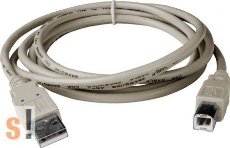 CA-USB18 # USB-A - USB-B csatlakozós kábel ICP DAS I-756x modulokhoz/ICP DAS, ICP CON