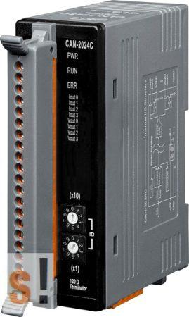 CAN-2024C # I/O Modul/CANopen/Slave/4AO/14-bit, ICP DAS