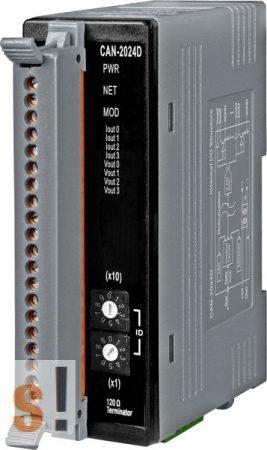 CAN-2024D # CAN Modul/DeviceNet/4AO/Slave/LED, ICP DAS