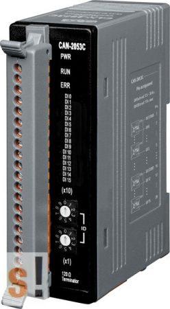 CAN-2053C # I/O Modul/CANopen/Slave/16DI/LED, ICP DAS