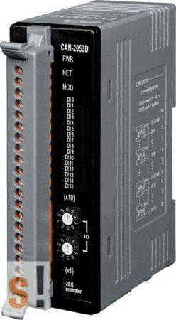 CAN-2053D # CAN Module/DeviceNet/16DI/Slave/LED, ICP DAS