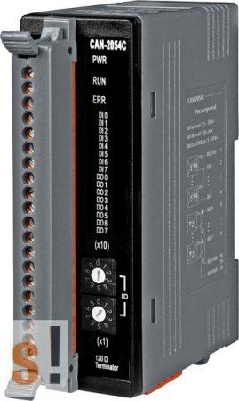 CAN-2054C # I/O Module/CANopen/Slave/8DO/8DI/LED, ICP DAS