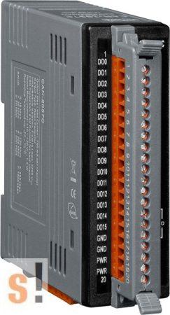 CAN-2057C # I/O Modul/CANopen/Slave/16DO/szigetelt OC/LED, ICP DAS