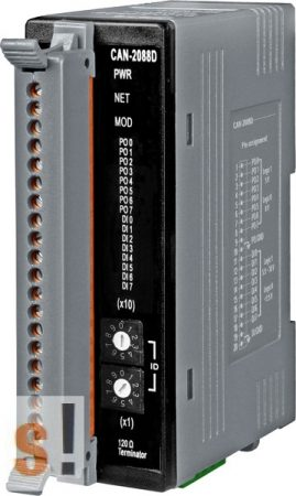 CAN-2088D # CAN Modul/DeviceNet/8 PWM/8 DI/LED, ICP DAS