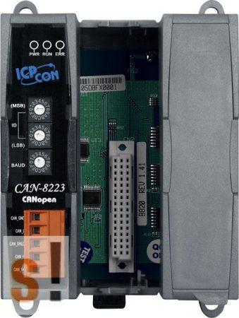 CAN-8223-G # Remote I/O ház/CANopen/Slave/2x I/O férőhely, ICP DAS