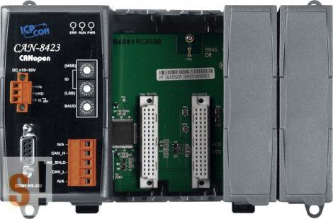 CAN-8423-G # Remote I/O ház/CANopen/Slave/4x I/O férőhely, ICP DAS
