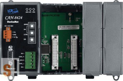 CAN-8424-G # Remote I/O ház/DeviceNET/Slave/4 férőhely, ICP DAS