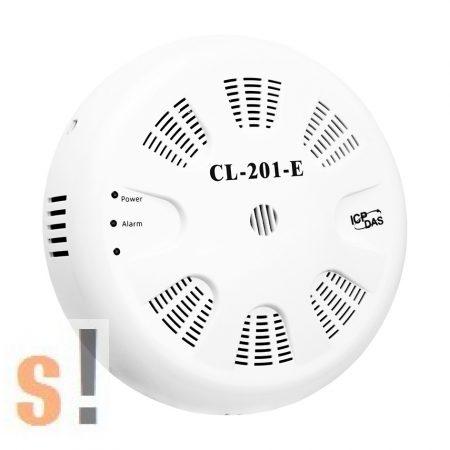 CL-201-E CR # Adatgyűjtő / Data logger/CO/Hőmérséklet/Páratartalom/Harmatpont/RS-485/Ethernet/DCON/Modbus RTU/Modbus TCP/MQTT/450000 rekord/IOS és Android App/ ICP CON, ICP DAS