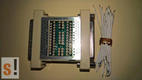 COM946 # RS-232 soros kötődoboz/Wiring Adapter/D-SUB 25 csatlakozók