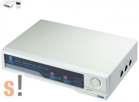 CS-221 # Számítógép megosztó/1 PC - 2 konzol (monitor-billentyűzet-egér), Aten