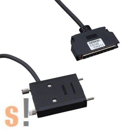 CS1W-CN311 # OMRON CS1 PLC kábel/D-SUB csatlakozó/OMRON 90 fokos csatlakozó, OMRON