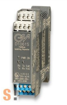 D1061S # szigetelt RS-422/485 vonalerősítő/ EX robbanásbiztos/repeater/MODBUS/ Fieldbus/ Profibus, G.M. International