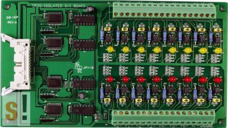 DB-16P CR # Bővítő kártya/Daughter Board/16x DI/Bi-direction/ICP DAS, ICP CON