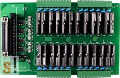 DB-24SSRDC # OPTO-22 kompatibilis relé kártya/24x RO relé kimnet/SSR relék/DC/CA-5015 kábel/ICP CON, ICP DAS